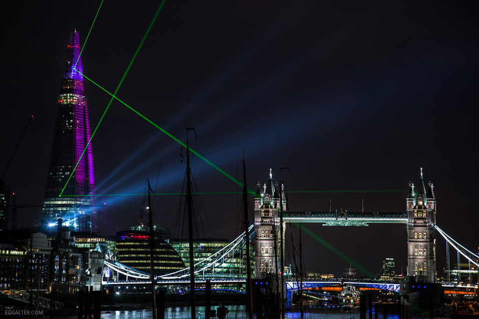 the shard london opening light show ed salter photography london londons shard tower opens with empty floors flat rents 960x640
