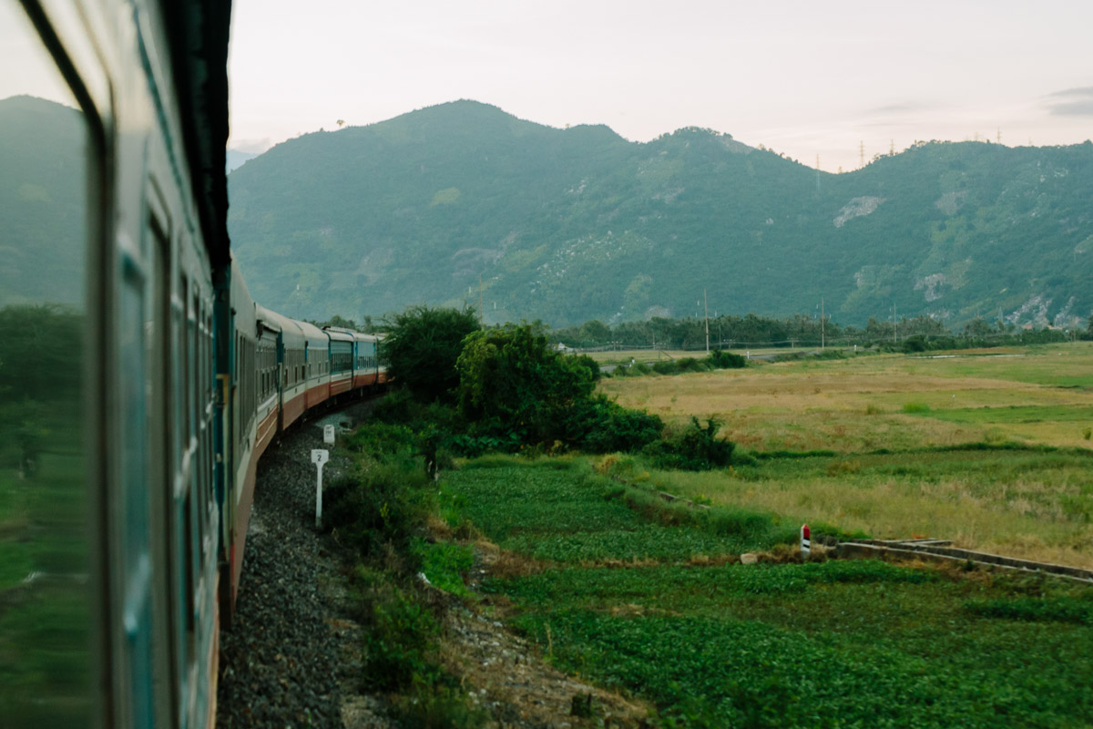 Train from Nha Trang to Hai An