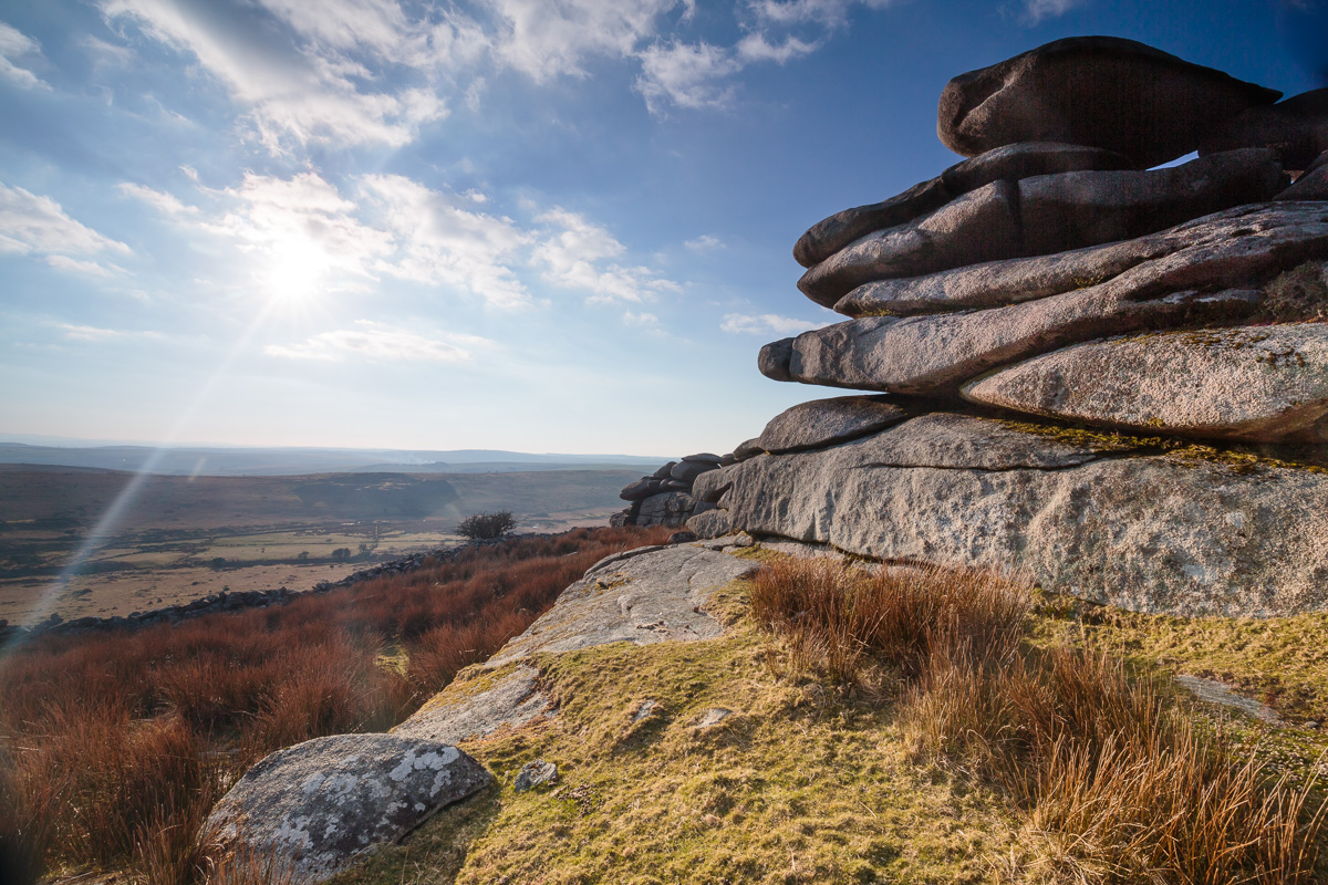 The Cheesewring, a granite tor on the southern edge of Bodmin Moor
