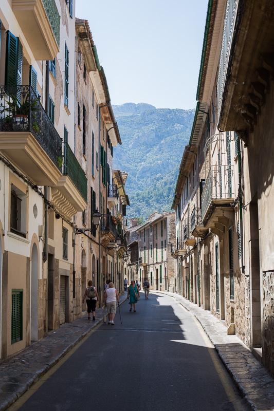 Street scene in Majorca
