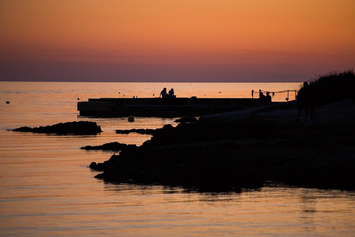 Sunset in Santa Del Ponsa, Majorca